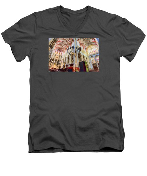 Gothic Church Men's V-Neck T-Shirt
