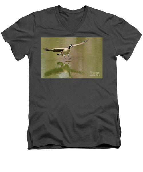 Graceful Goose Men's V-Neck T-Shirt