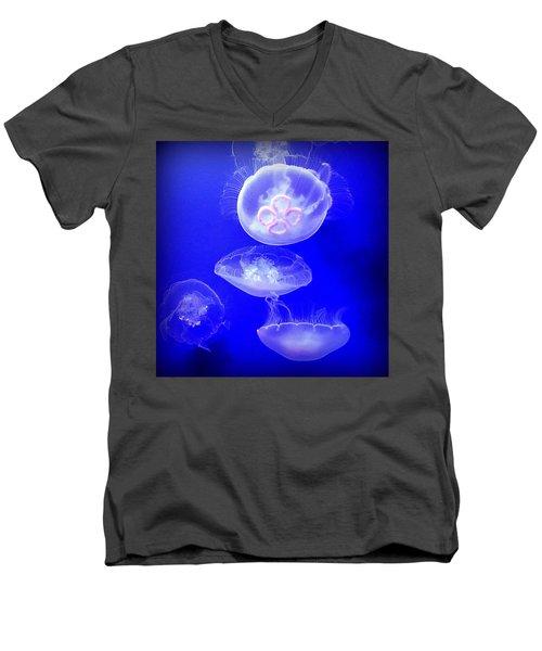 Graceful Jellies - Ballerinas Of The Sea Men's V-Neck T-Shirt
