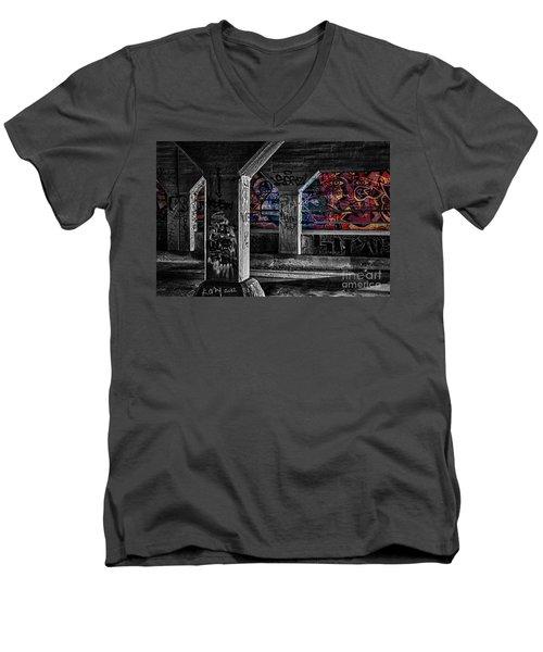 Graffiti Galore 2 Men's V-Neck T-Shirt