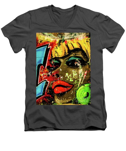Graffiti_04 Men's V-Neck T-Shirt