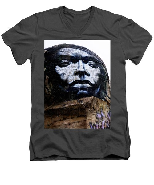 Graffiti_07 Men's V-Neck T-Shirt