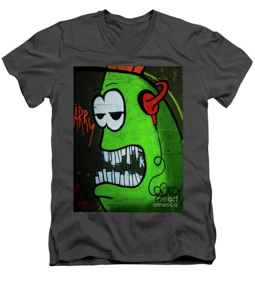 Graffiti_12 Men's V-Neck T-Shirt