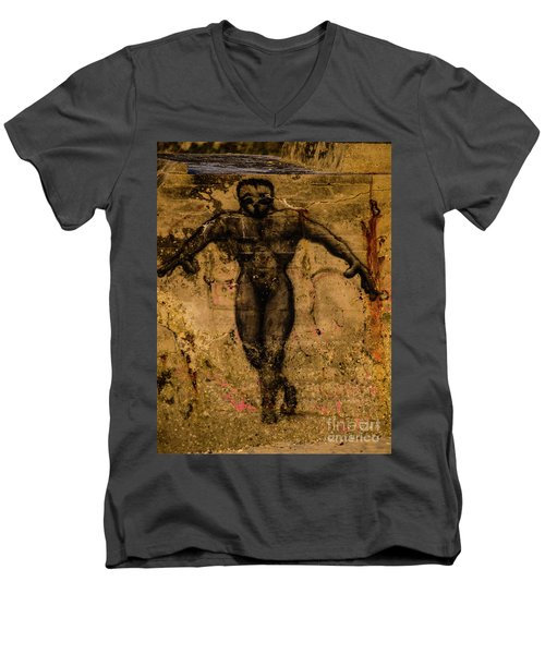 Graffiti_15 Men's V-Neck T-Shirt