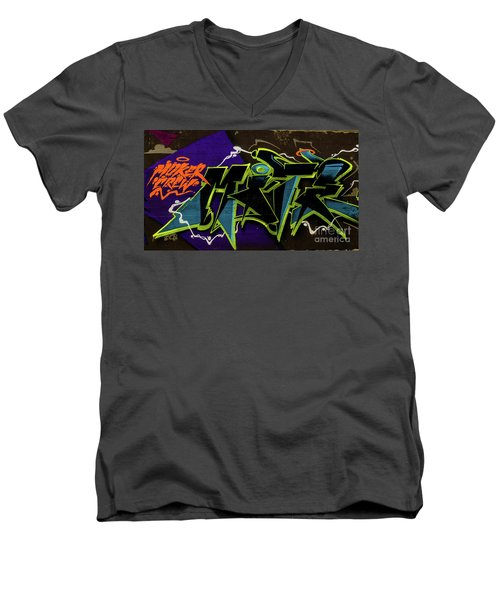 Graffiti_18 Men's V-Neck T-Shirt