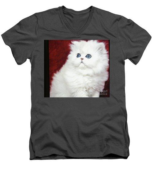 Grammas Baby Men's V-Neck T-Shirt by Marsha Heiken