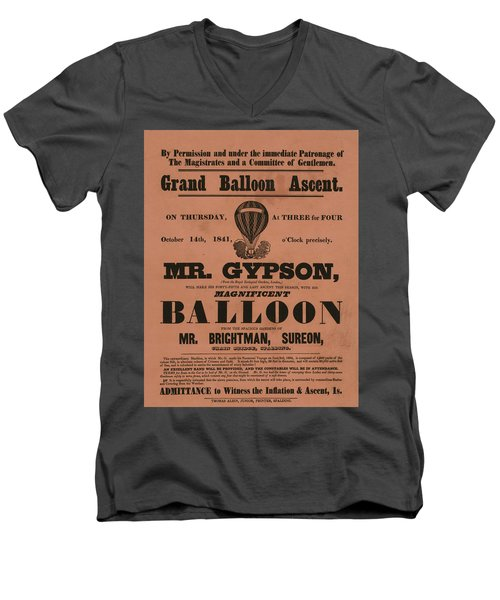 Grand Balloon Ascention Men's V-Neck T-Shirt