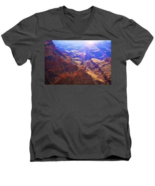 Grand Canyon Arizona 10 Men's V-Neck T-Shirt
