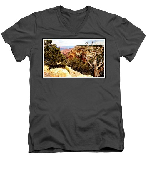 Grand Canyon National Park, Arizona Men's V-Neck T-Shirt