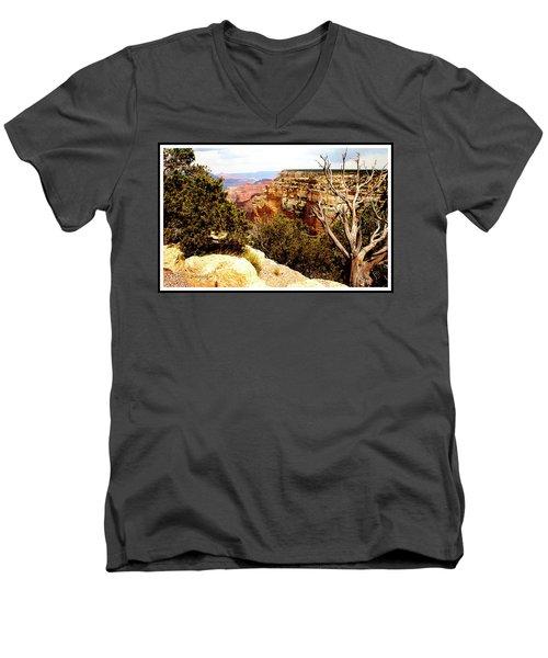 Grand Canyon National Park, Arizona Men's V-Neck T-Shirt