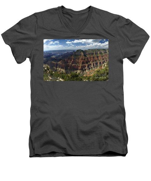 Grand Canyon North Rim Men's V-Neck T-Shirt