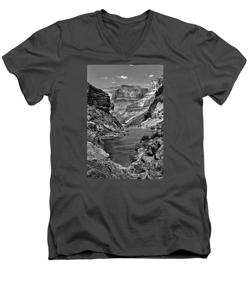 Grand Canyon Vista Men's V-Neck T-Shirt by Alan Toepfer