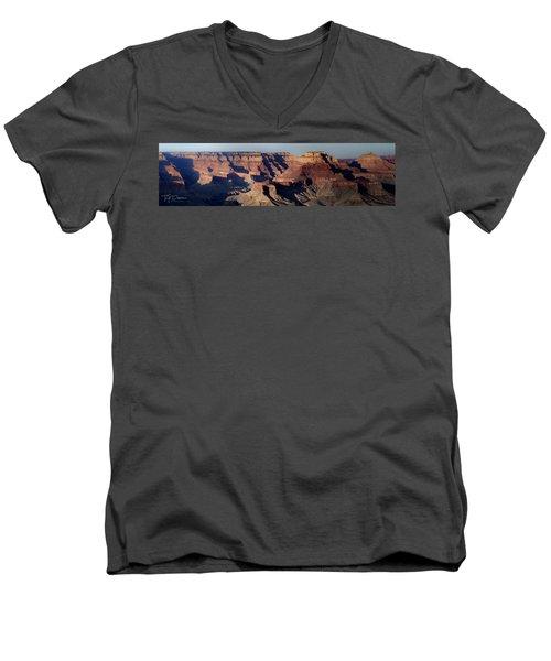 Grand Canyon Wide Men's V-Neck T-Shirt