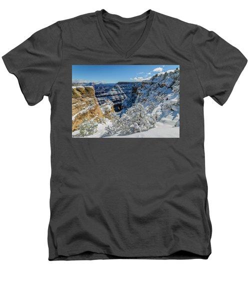 Grand Cayon Men's V-Neck T-Shirt