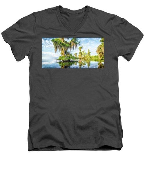Grand Cypress Men's V-Neck T-Shirt