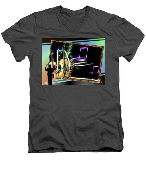 Grand Musicology Men's V-Neck T-Shirt