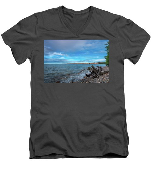 Grand Sable Banks Men's V-Neck T-Shirt