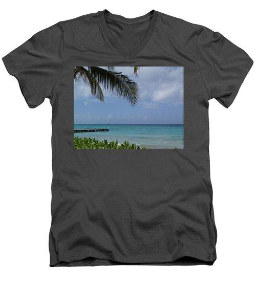 Grand Turk Men's V-Neck T-Shirt