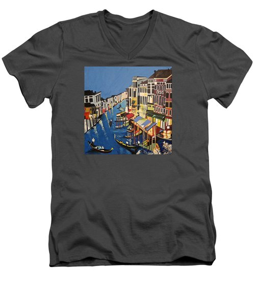 Grande Canal Men's V-Neck T-Shirt