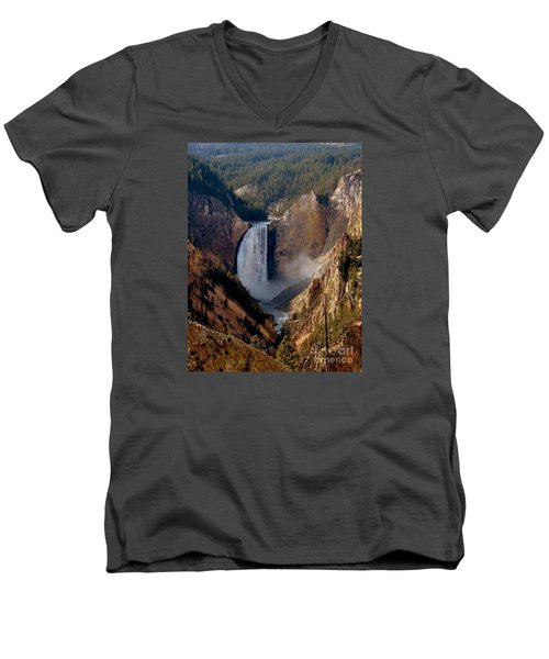 Grandeur Men's V-Neck T-Shirt