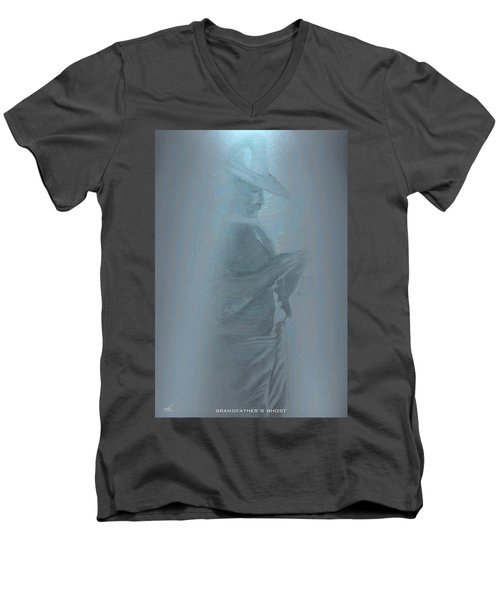 Grandfather's Ghost Men's V-Neck T-Shirt