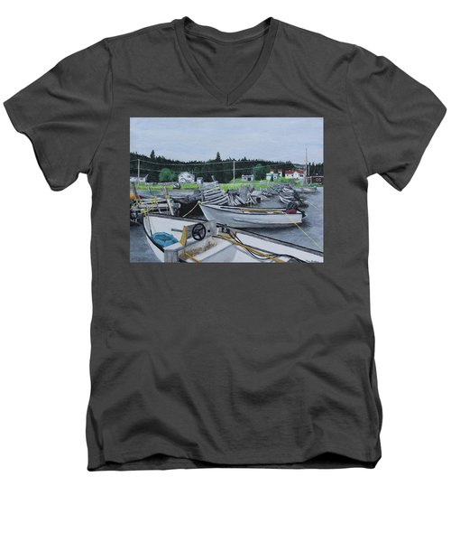 Grandfathers Wharf Men's V-Neck T-Shirt