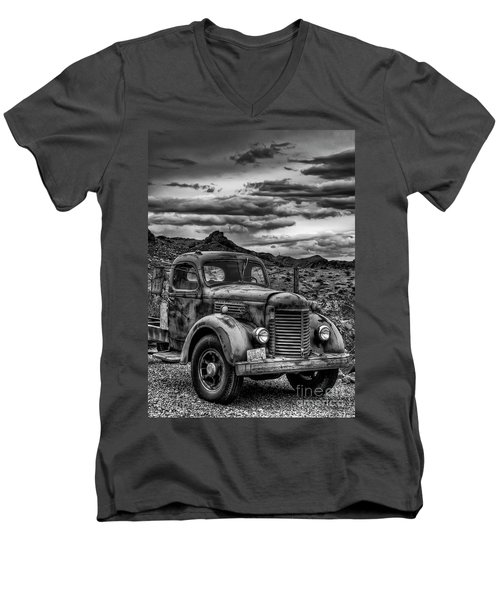 Grandpa's Ride Men's V-Neck T-Shirt