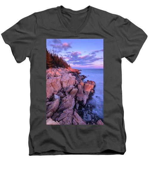 Granite Coastline Men's V-Neck T-Shirt