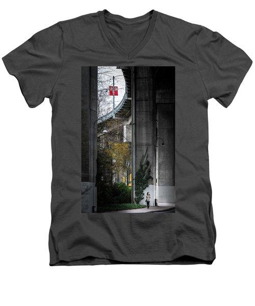 Granville Island Urban Enclave Men's V-Neck T-Shirt