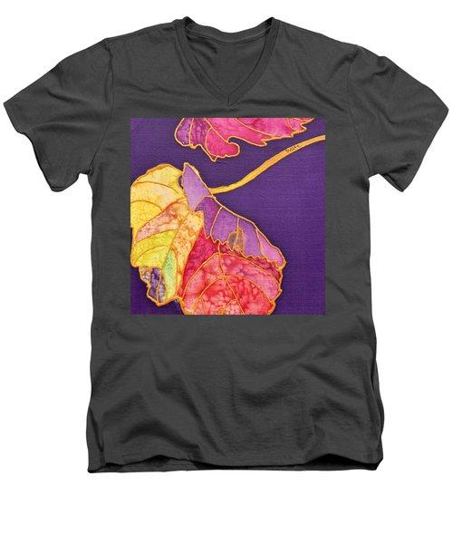 Grape Leaves Men's V-Neck T-Shirt