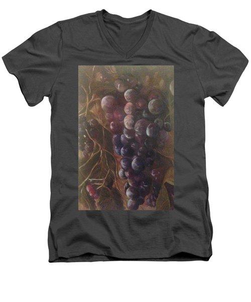 Grapes On A Vine Ca. Men's V-Neck T-Shirt