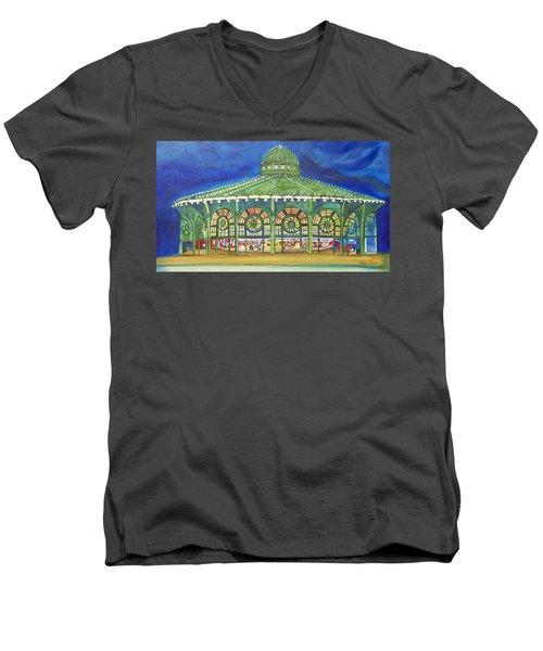 Grasping The Memories Men's V-Neck T-Shirt