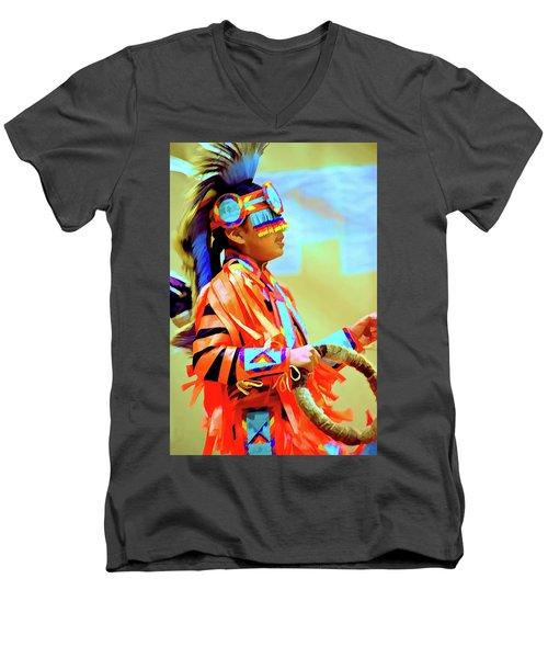Grass Dancer Pride Men's V-Neck T-Shirt