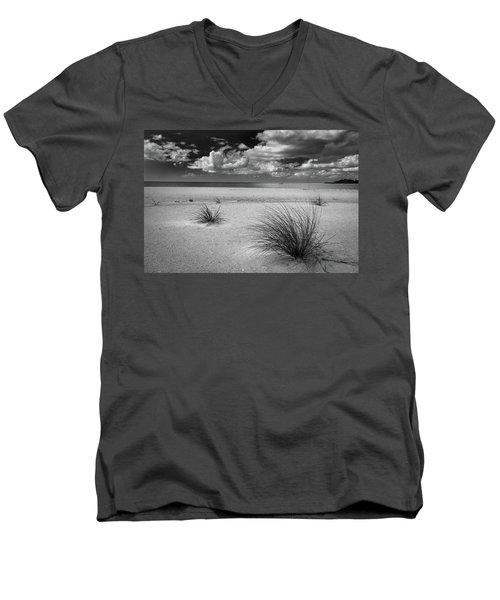 Grasses On The Beach Men's V-Neck T-Shirt