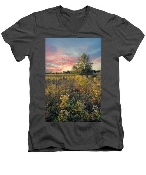 Grateful For The Day Men's V-Neck T-Shirt