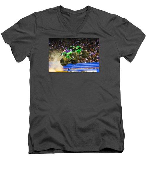 Grave Digger 7 Men's V-Neck T-Shirt