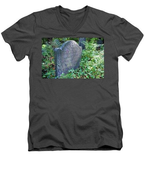 Grave Of Mary Hall Men's V-Neck T-Shirt