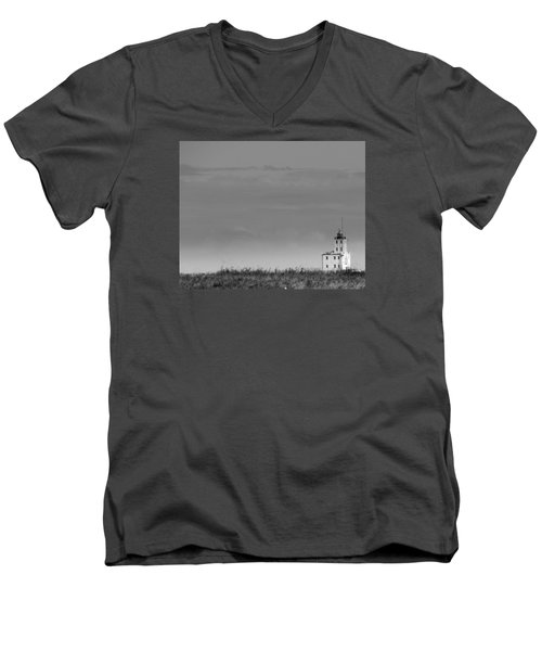 Gray Harbor In Wisconsin Men's V-Neck T-Shirt