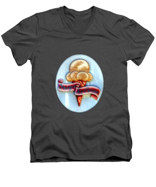 Grays  Bristol Ri Men's V-Neck T-Shirt