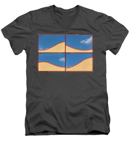 Great Curves -  Men's V-Neck T-Shirt