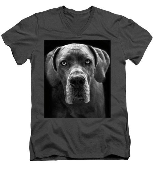 Great Dane  Men's V-Neck T-Shirt