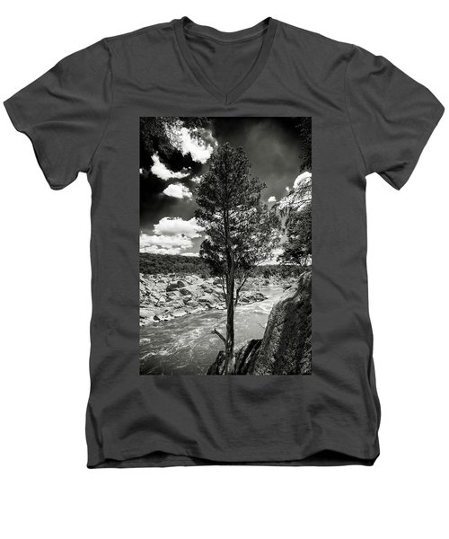 Great Falls Tree Men's V-Neck T-Shirt