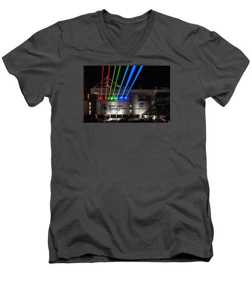 Great Lakes Science Center Men's V-Neck T-Shirt