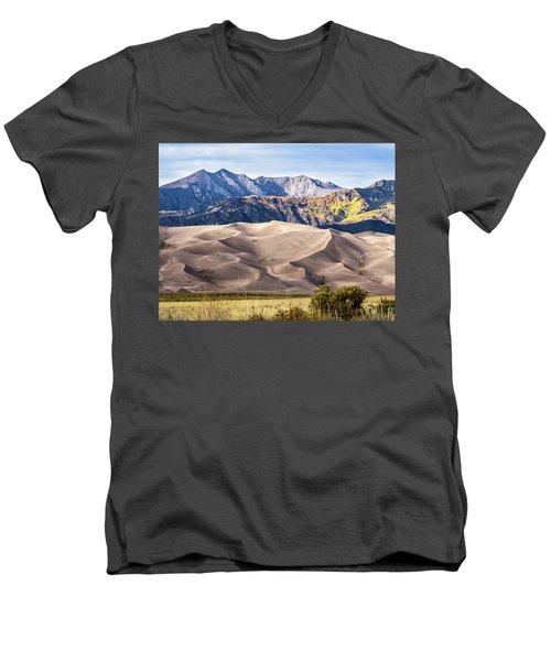 Great Sand Dunes Of Southern Colorado Men's V-Neck T-Shirt