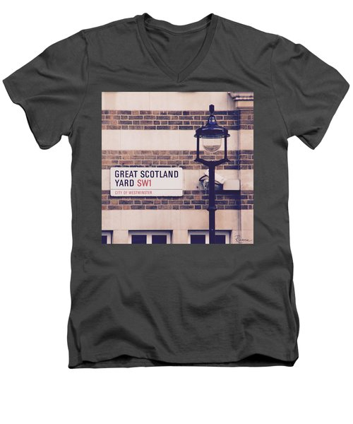 Great Scotland Yard Men's V-Neck T-Shirt