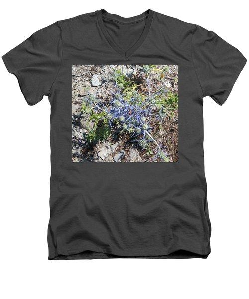 Greek Spiky Plant Men's V-Neck T-Shirt