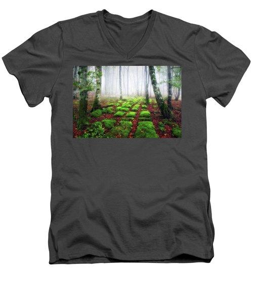Green Brick Road Men's V-Neck T-Shirt