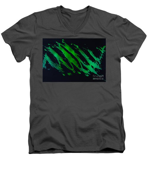 Green Escape Men's V-Neck T-Shirt