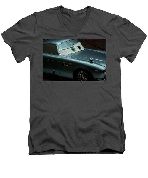 Green Eyed Finn Mcmissile Mp Men's V-Neck T-Shirt