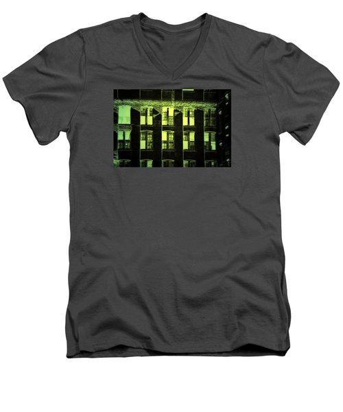 Green Light Men's V-Neck T-Shirt